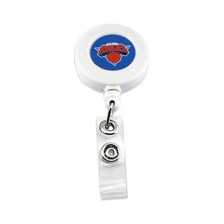 New York Knicks Retractable Badge Reel Id Ticket Clip