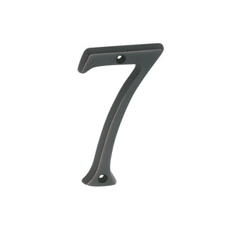 Schlage 3076 Classic House Number 7