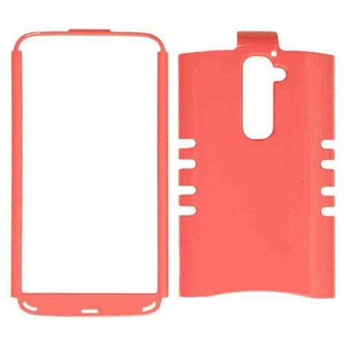 Cell Armor - Rocker Series Snap-On Protector Case for LG G2 - Pearl Light Pink