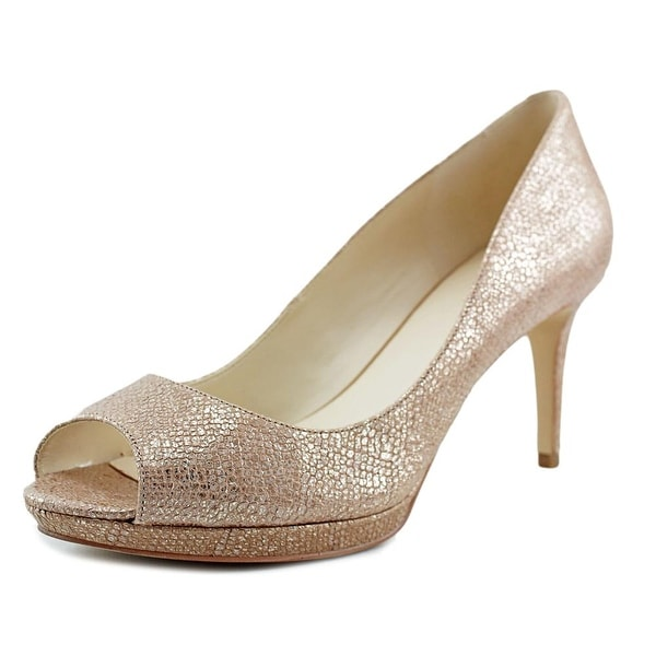 Nine West Gelabelle Women Natural MT Pumps
