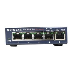 Netgear Prosafe 5-Port Fast Ethernet Unmanaged Desktop Switch