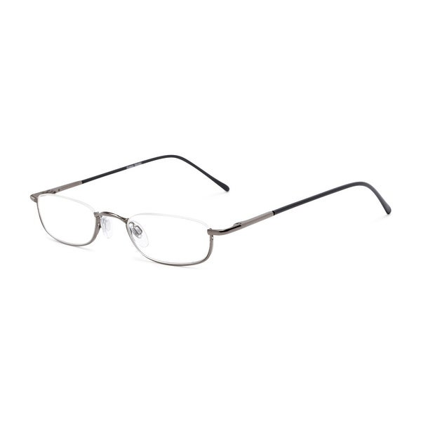 Readers.com The Magnum Rectangle Reading Glasses. Opens flyout.