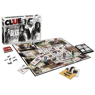 The Walking Dead Clue Board Game - multi