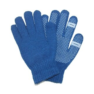 CTM® Women's Grip Knit Texting Winter Gloves