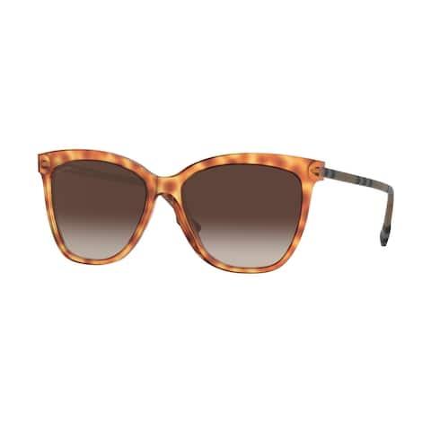 Burberry BE4308 385713 56 Light Havana Woman Square Sunglasses - Tortoise