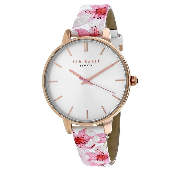 fdc5a33e77ad1 Shop Ted Baker Women s Classic TE50647002 Silver Dial watch - Free Shipping  Today - Overstock - 24226008