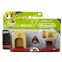 Legend of Zelda Micro Figure Playset: Ganondorf & Hyrule Castle - multi