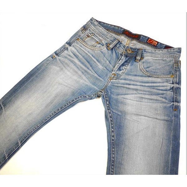 Cult of Individuality Mens Rebel Straight Wash Light Jean Size 34/34