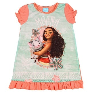 Disney Girls' Moana And Pua Nightgown