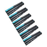 Replacement 4400mAh Battery For Dell 312-1242 / 37HGH Battery Models (6 Pack)