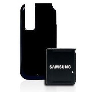OEM Samsung Extended Battery and Back Door Cover for Samsung Glyde U940 (Midnigh