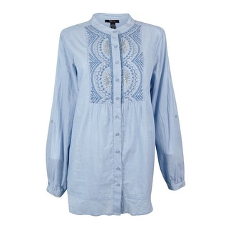 Style & Co. Women's Embellished Tunic Top