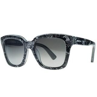Valentino V667/S 049 Silver Pearl Wayfarer Sunglasses