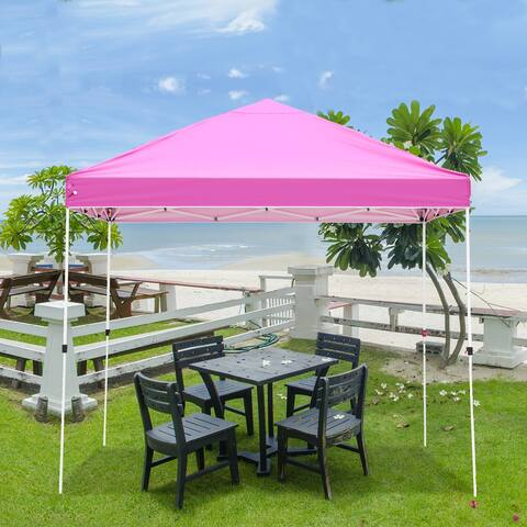 Ainfox 10x10ft Outdoor Canopy Tent Gazebo for Party&Gatherings