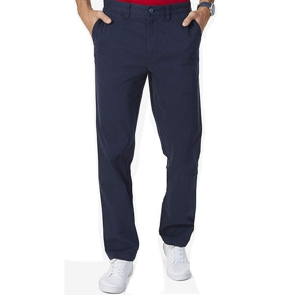Nautica Mens Stretch Soft Twill Classic Fit Pants
