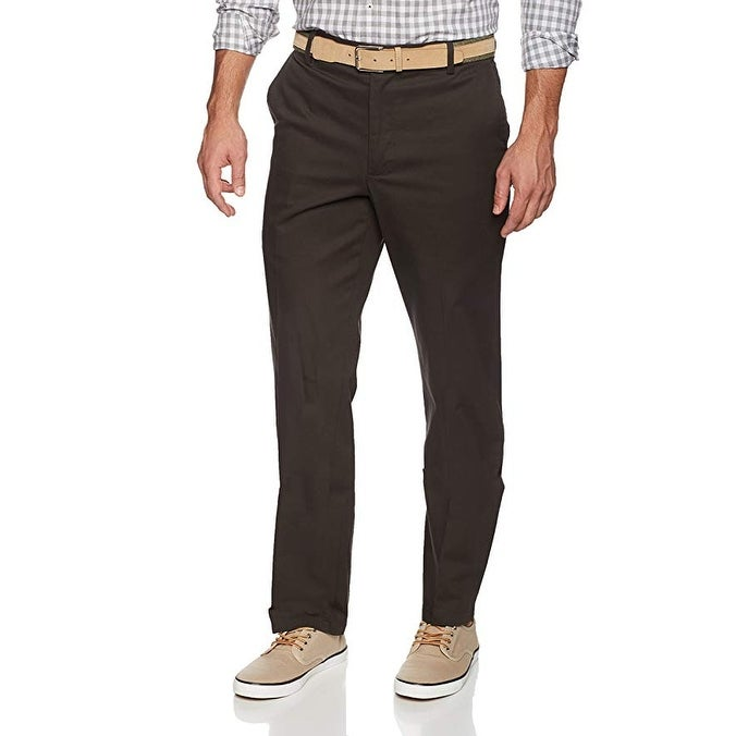 Dockers Men/'s Straight Fit Signature Khaki Flat Front Pant D2