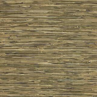 Brewster 412-44141 Lepeka Dark Green Grasscloth Wallpaper