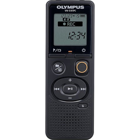 Olympus VN-541PC With PC Link 4GB Black Digital Voice Recorder, Certified Refurbished