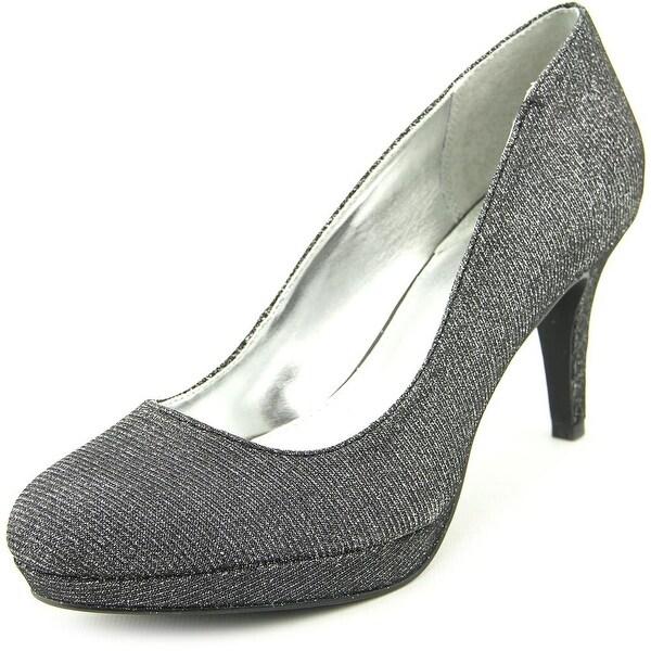 Alfani Madyson Women Open Toe Synthetic Gray Platform Heel