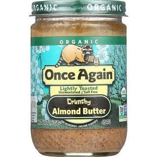 Once Again - Lightly Toasted Creamy Almond Butter ( 12 - 16 OZ)