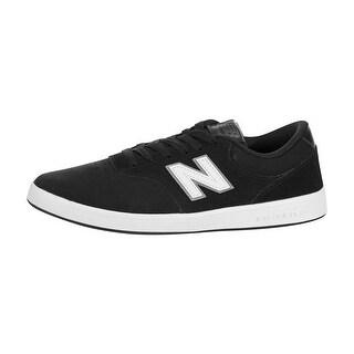 New Balance Mens AM424NBW Low Top Lace Up Fashion, Black/White, Size 8.0 - 8