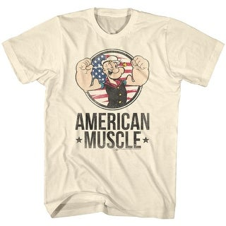 POPEYE T Shirt MUSCLE ADULT Short Sleeve