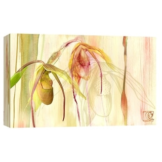 "PTM Images 9-102188  PTM Canvas Collection 8"" x 10"" - ""Garden Paradiso"" Giclee Flowers Art Print on Canvas"