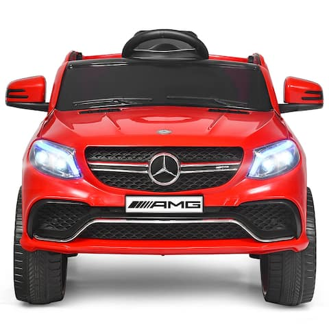Costway Mercedes Benz 12V Electric Kids Ride On Car Licensed MP3 RC - See Description