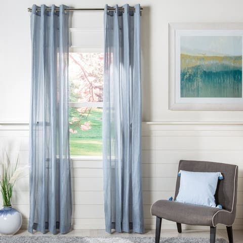Safavieh Makena Sheer Window Curtain Panel
