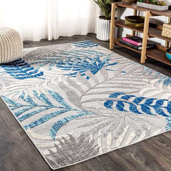 JONATHAN Y Tropics Palm Leaves Area Rug. Opens flyout.