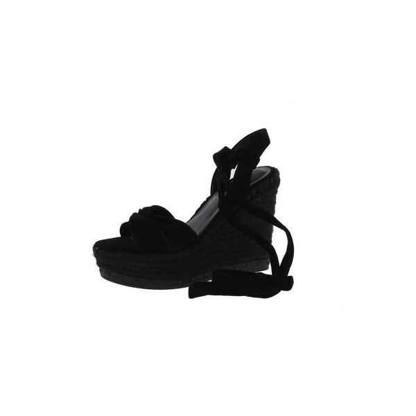 Kendall + Kylie Womens Grayce 2 Wedge Sandals Suede Platform - 8.5 medium (b,m)