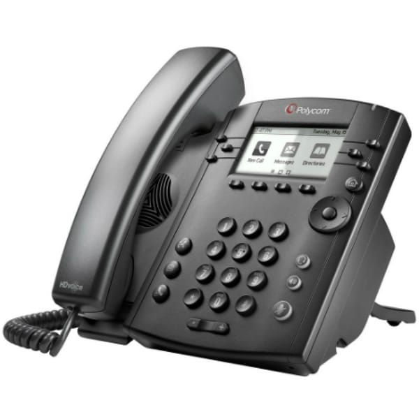 NEW Polycom VVX 401 2200-48400-001 12-Line Desktop Phone with power supply