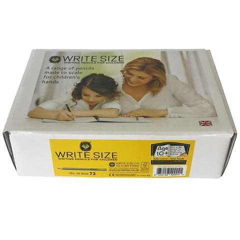 Write Size Pencils 5.75In 72 Bx