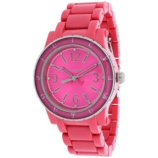 Juicy Couture Women's HRH 1900804 Pink Dial watch