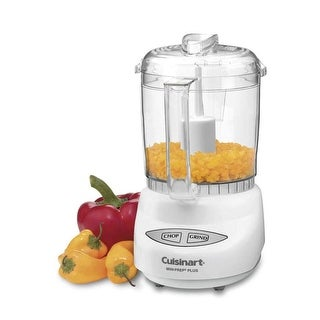 Cuisinart CGC-4WPCFR Mini-Prep Plus Food Processor, White, Certified Refurbished