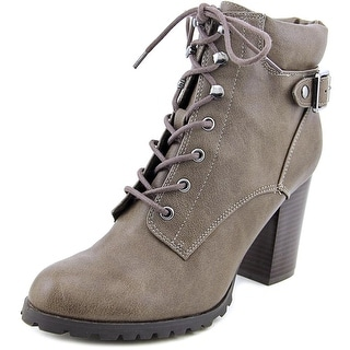 Style & Co Caitlin Women Round Toe Synthetic Brown Bootie
