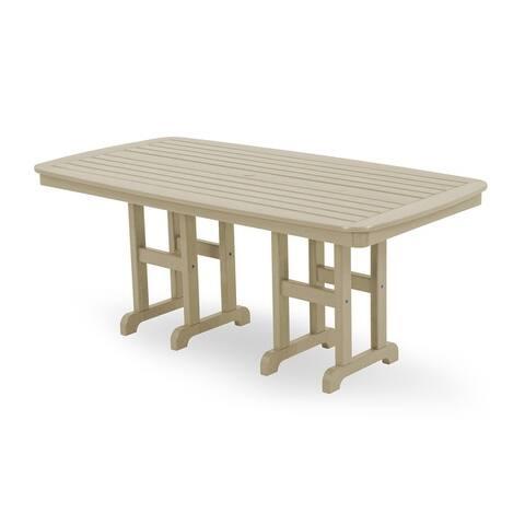 "POLYWOOD Nautical 37"" x 72"" Dining Table"