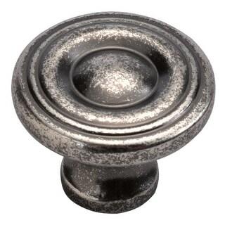 Hickory Hardware P14402 Eclipse 1-1/8 Inch Diameter Mushroom Cabinet Knob