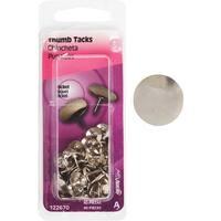HILLMAN 40Pc Nickel Thumb Tack