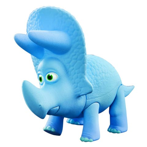 Disney's The Good Dinosaur Small Action Figure: Sam the Triceratops - Multi