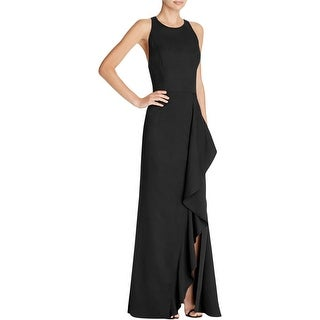 Jarlo Womens Iona Evening Dress Crepe Open Back