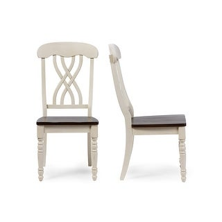 Newman White Dining Side Chair - 2pcs