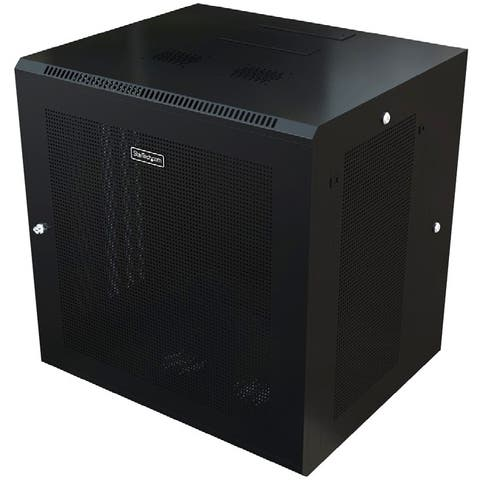 Startech.com rk2620walhm use this wall mount network cabinet to mount your server or networking equipment - Black