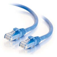 C2g 03978 2Ft Cat6 Snagless Unshielded (Utp) Network Patch Cable, Blue