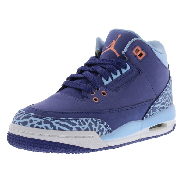 6cd9d1bbd68a Shop Jordan Retro 3 Basketball Girls Gradeschool Shoes Size - Free ...
