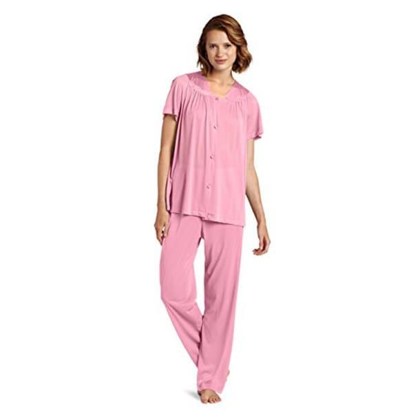 7cbeee5f08 Shop Vanity Fair Women s Plus Size Coloratura Sleepwear Pajama Set ...