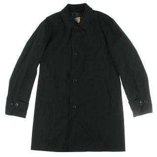 MICHAEL Michael Kors Mens Franklin Raincoat Outerwear Long Sleeves