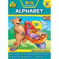 Preschool Alphabet; Ages 3-5 - Big Workbook - preschool alphabet; ages 3