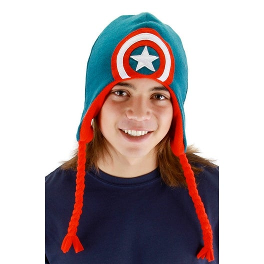 81aa1899e93 Shop Elope Captain America Laplander Accessory - Blue Red - Free Shipping  On Orders Over  45 - Overstock - 21331827