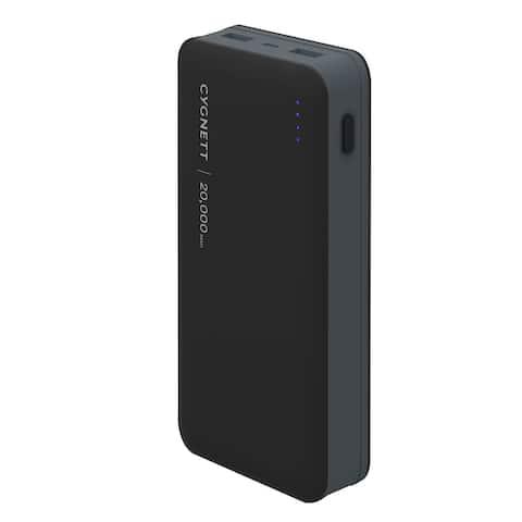 Cygnett Chargeup Ultra 20000 mAh 4.8A Powerbank - Black/Grey